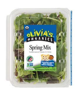 Olivia's Organic Spring Mix