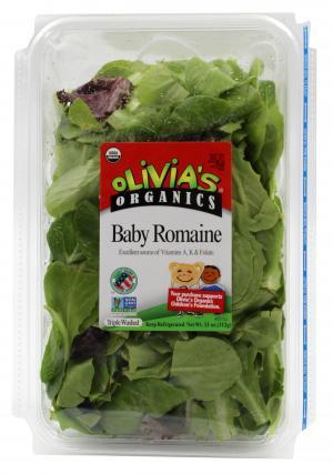 Olivia's Organic Baby Romaine