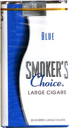 Smoker's Choice Blue Little Cigars