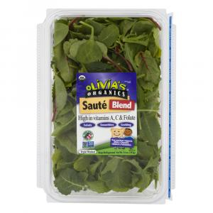 Olivia's Organics Cooking Greens Baby Saute Blend