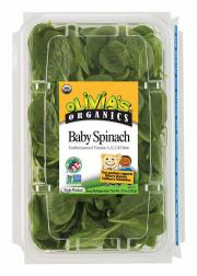 Olivia's Organic Baby Spinach