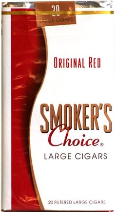 Smoker's Choice Original Red Large Cigars
