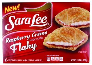 Sara Lee Raspberry Creme Flaky Pastry
