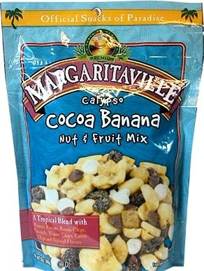Margaritaville Calypso Cocoa Banana Nut & Fruit Mix