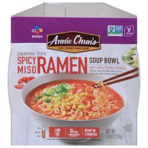 Annie Chun's Spicy Miso Ramen Soup Bowl