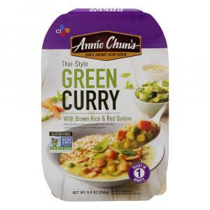 Annie Chun's Thai-style Green Curry Brown Rice & Red Quinoa