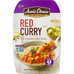Annie Chun's Red Curry Brown Rice & Red Quinoa