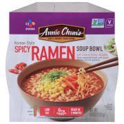 Annie Chun's Korean Spicy Ramen Soup Bowl