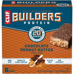 Clif Builders Chocolate Peanut Butter Bars
