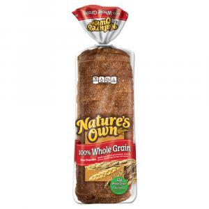Nature's Own 100% Whole Grain Bread