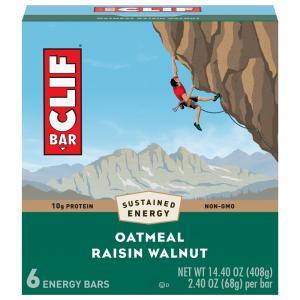 Clif Bar Oatmeal Raisin Walnut Bars