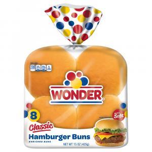Wonder Classic Hamburger Buns