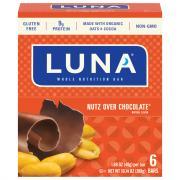 Clif Luna Nutz Over Chocolate Bars