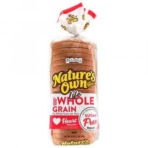 Nature's Own Sugar Free Whole Grain Wheat Bread