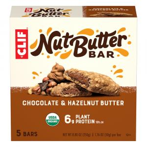 Clif Organic Nut Butter Filled Chocolate Hazelnut Butter Bar
