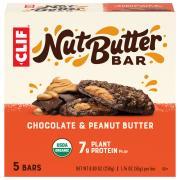 Clif Organic Nut Butter Filled Chocolate Peanut Butter Bar