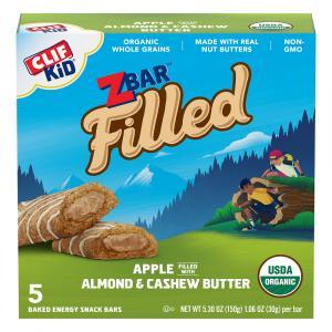 Clif Kid Organic Zbar Apple Almond Butter Bars