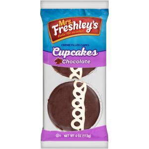 Mrs. Freshley's Chocolate Cupcakes Single Serve