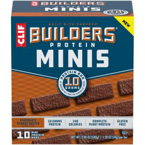 Clif Builders Protein Minis Chocolate Peanut Butter Bar