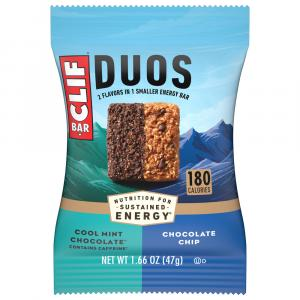 Clif Duo Mint Chocolate Chocolate Chip