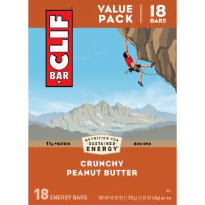 Clif Bars Crunchy Peanut Butter
