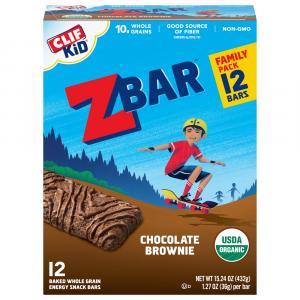 Clif Kid Organic ZBar Chocolate Brownie