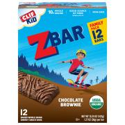 Clif Kid Organic ZBar Chocolate Brownie