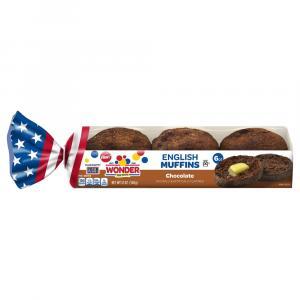 Wonder Chocolate English Muffins