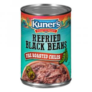 Kuner's Refried Beans & Roasted Chiles