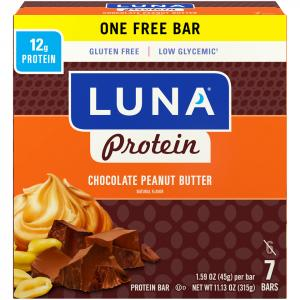 Luna Protein Chocolate Peanut Butter High Protein Bar