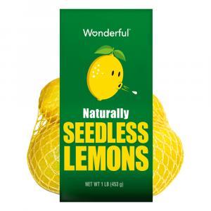Wonderful Seedless Lemons
