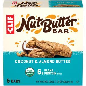 Clif Organic Nut Butter Filled Coconut Almond Butter Bar