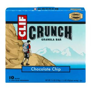 Clif Crunch Bar Chocolate Chip Bars