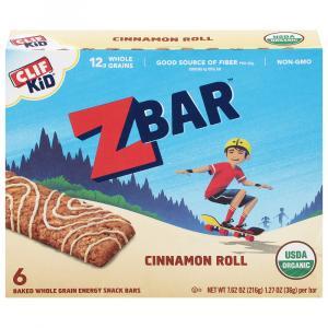 Clif Kid Organic ZBar Cinnamon Roll