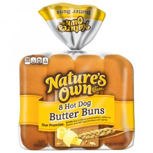 Nature's Own Butter Buns Hot Dog