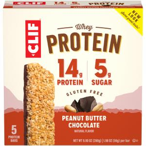 Clif Whey Protein Bar Peanut Butter & Chocolate