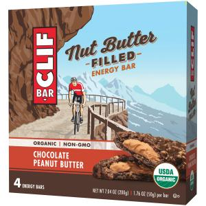 Clif Bar Nut Butter Filled Chocolate Peanut Energy Bar