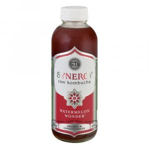 GT's Synergy Organic Kombucha Watermelon Wonder