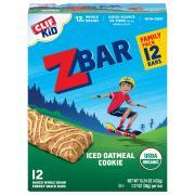 Clif Kid Organic ZBar Iced Oatmeal Cookie