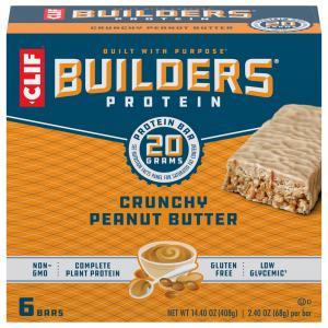 Clif Builder's Protein Crunchy Peanut Butter Bars