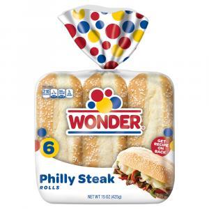 Cobblestone Bread Co. Philly Steak Rolls