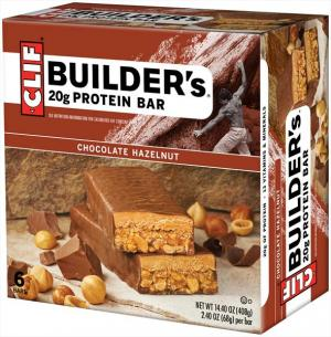 Clif Chocolate Hazelnut Builder Bars