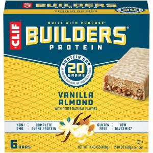 Clif Builders Vanilla Almond Bars