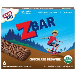 Clif Kid Organic Zbar Chocolate Brownie Bars