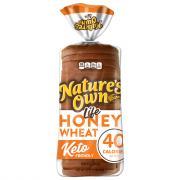 Nature's Own Light Honey Wheat Bread Keto Friendly