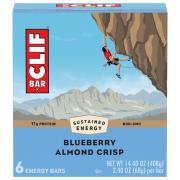 Clif Blueberry Crisp Energy Bars