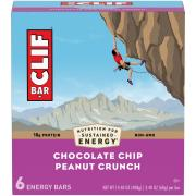 Clif Chocolate Chip Peanut Crunch Bars