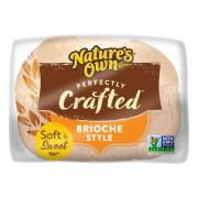 Nature's Own Perfectly Crafted Brioche Style