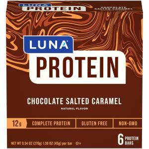 Luna Protein Chocolate Salted Caramel Bars