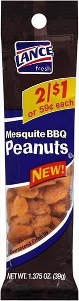 Lance Mesquite Bbq Peanuts